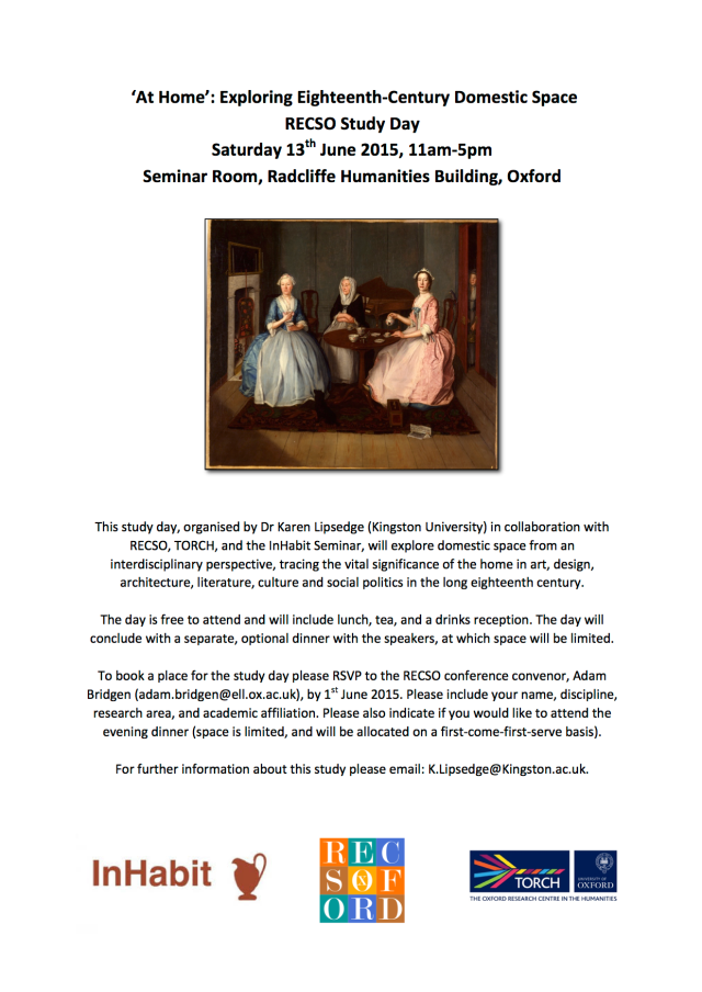 'At Home': Exploring Eighteenth-Century Domestic Space