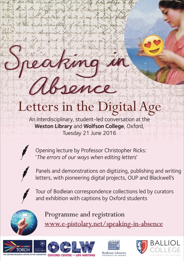 Speaking in Absence - Letters in the Digital Age